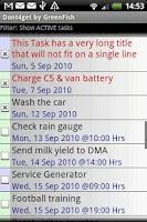 Screenshot of dont4get XL