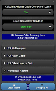 Wireless Mic & IEM RSSI Calc- screenshot thumbnail