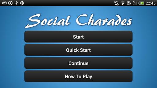 Social Charades App free