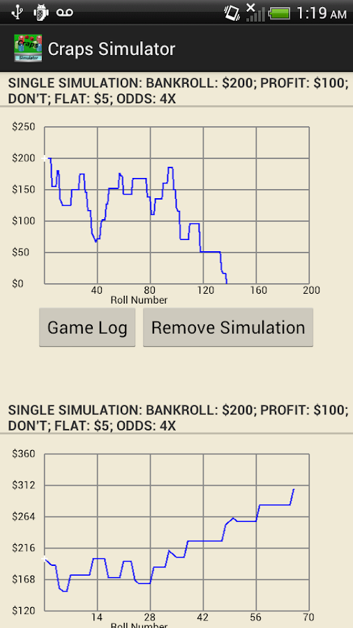 odds simulator