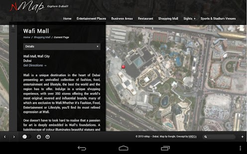 Dubai Interactive nMap World - screenshot thumbnail