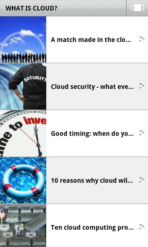 Guide to Cloud Computing - screenshot