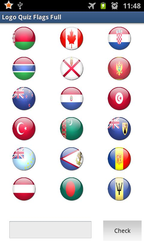 Logo Quiz - Flags - screenshot