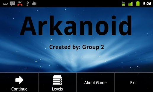 Arkanoid Group 2 - screenshot thumbnail