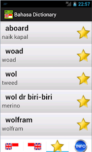 Bahasa dictionary - screenshot thumbnail