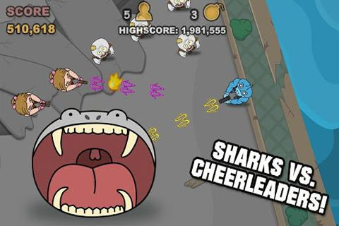 Sharks Vs Zombies- screenshot
