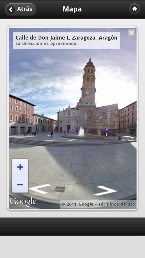 Zaragoza AudioGuia, España - screenshot