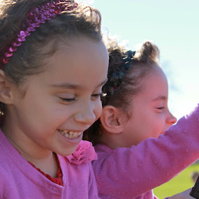 Mia and Sophia by Sandra Fouty - Babies & Children Children Candids (  )