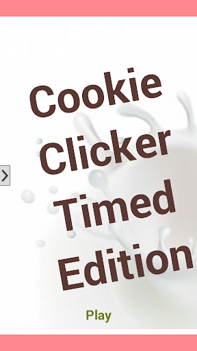 Cookie Clicker Timed Edition