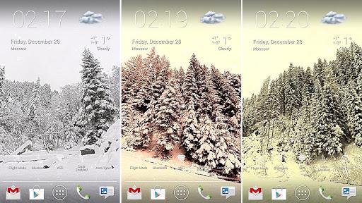 Snowfall 360° Live Wallpaper