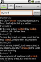 Screenshot of Holy Bible (RSV)