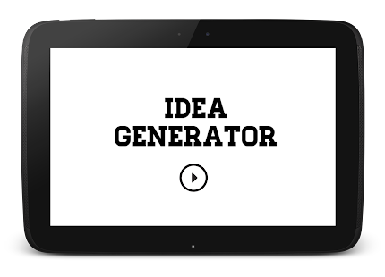 Idea Generator- screenshot thumbnail
