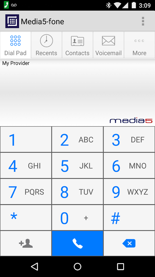 Media5-fone - screenshot