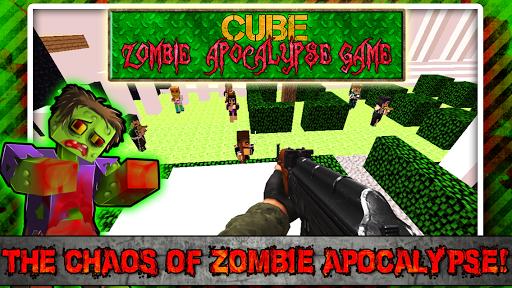 Cube Zombie Apocalypse Game