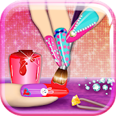 3D Nail Art Games for Girls