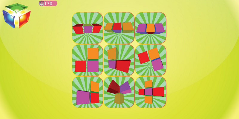 3D Pattern Puzzle- screenshot