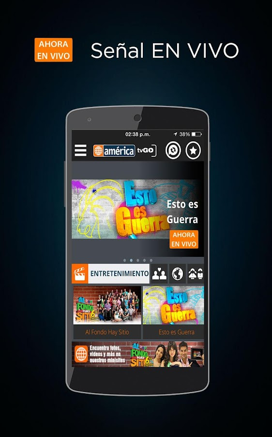 América tvGO - screenshot