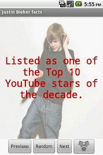 Justin Bieber Facts - screenshot thumbnail