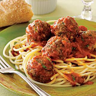 Spaghetti and Easy Meatballs.