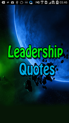 Leadership Top Quotes Sayings