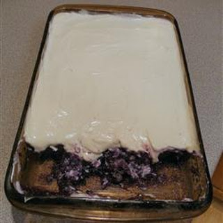 Blueberry Gelatin Salad.