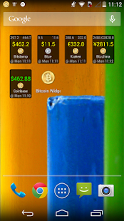 Bitcoin Widget - screenshot thumbnail