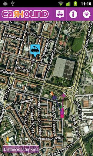 Car Hound Find my parking|玩交通運輸App免費|玩APPs