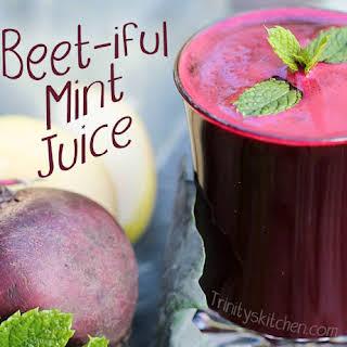 Fresh Mint Juice Recipes.