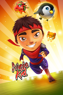 Ninja Kid Run Free - Fun Games- screenshot thumbnail