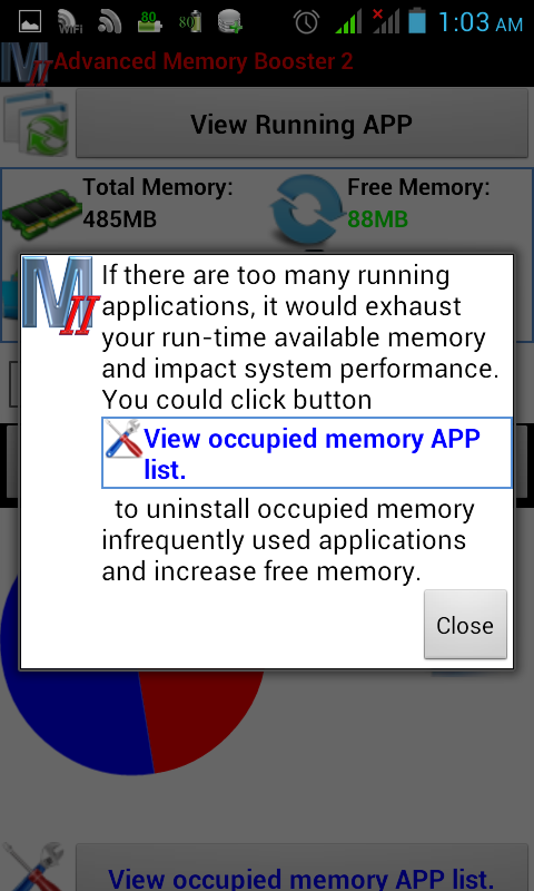 Advanced Memory Booster 2 - screenshot