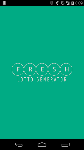 【免費娛樂App】Fresh Lotto Generator-APP點子