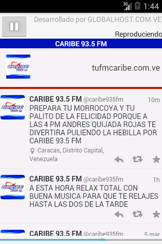 CARIBE 93.5 FM