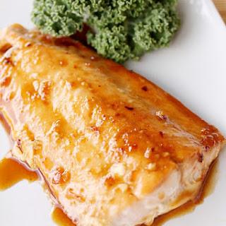 Asian Glazed Salmon.