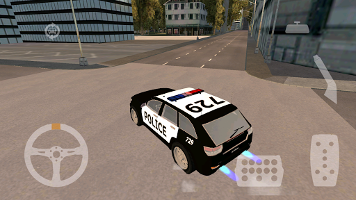 【免費模擬App】Police Car HD: Escape-APP點子