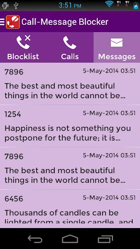 【免費通訊App】Call SMS Blocker PRO-APP點子