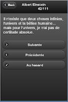 Screenshot of Citations d'hommes célèbres