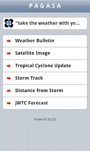 PAGASA Mobile - screenshot thumbnail