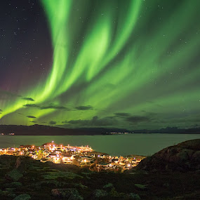 Go Green by Rune Nilssen - Landscapes Starscapes ( k3, norwegen, lødingen, aurora borealis, pentax, stas, foto, nordland, rune, norway, lodingen )