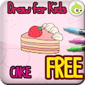 Draw for Kids, Cake icon