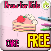 Draw for Kids, Cake