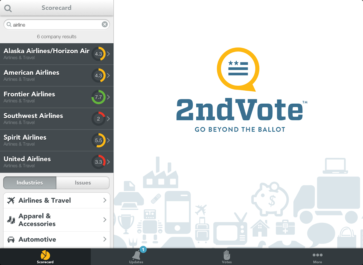 2nd Vote - screenshot