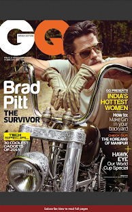 GQ India - screenshot thumbnail