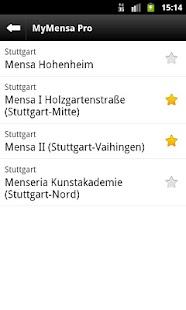 MyMensa- screenshot thumbnail