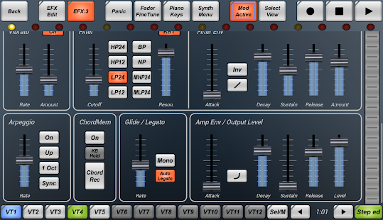 G-Stomper VA-Beast Synthesizer - screenshot thumbnail