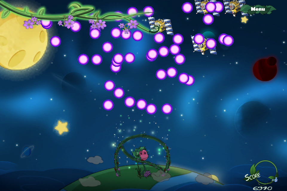 Hungry Flower- screenshot