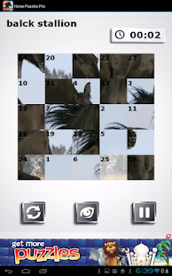 FREE Horse Puzzles - screenshot thumbnail