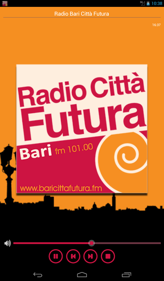 Radio Bari Città Futura- screenshot