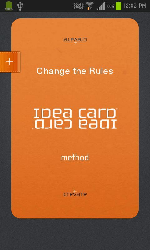 IDEA CARD™ - screenshot