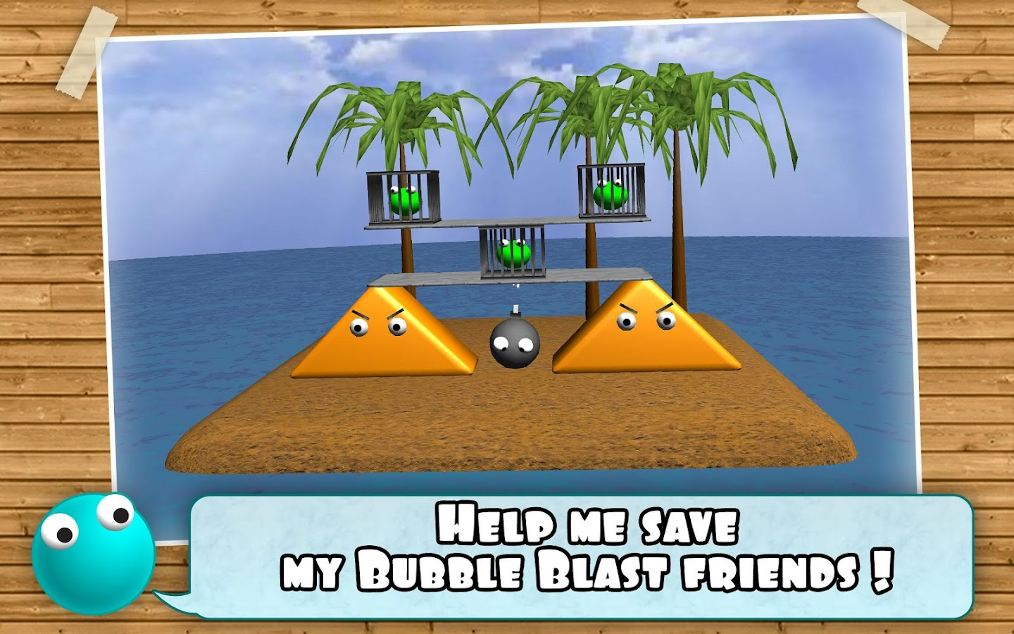 Bubble Blast Rescue - screenshot