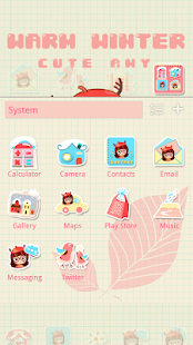 Warm Winter GO Launcher Theme - screenshot thumbnail